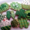 Demo Cookies for St. Patrick's Day Cookie  Workshop