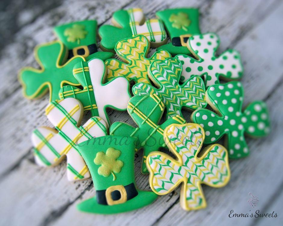 St. Patrick's Day Cookies by Emma's Sweets