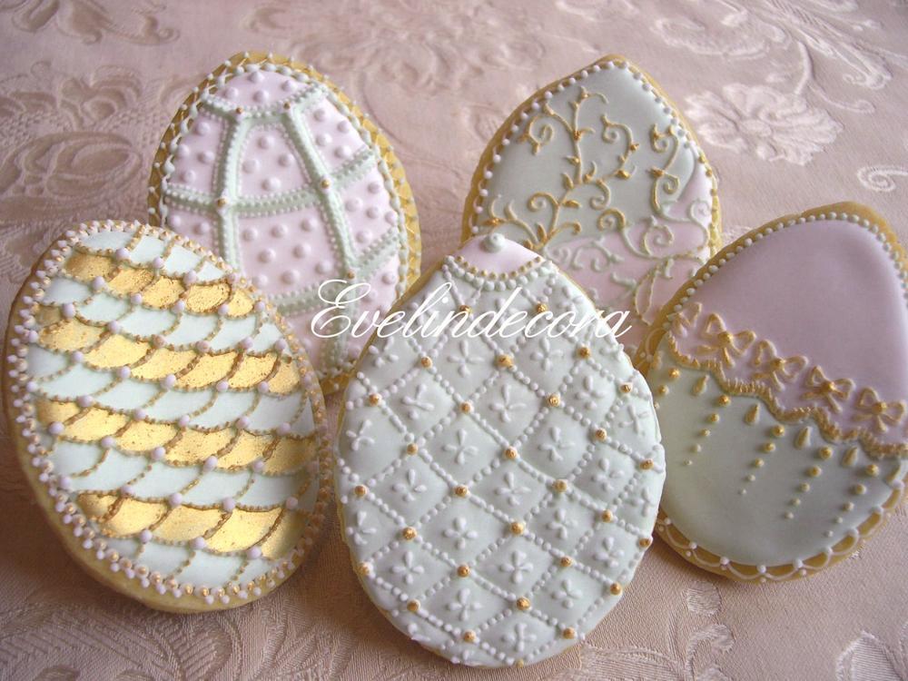 Fabergè egg cookies