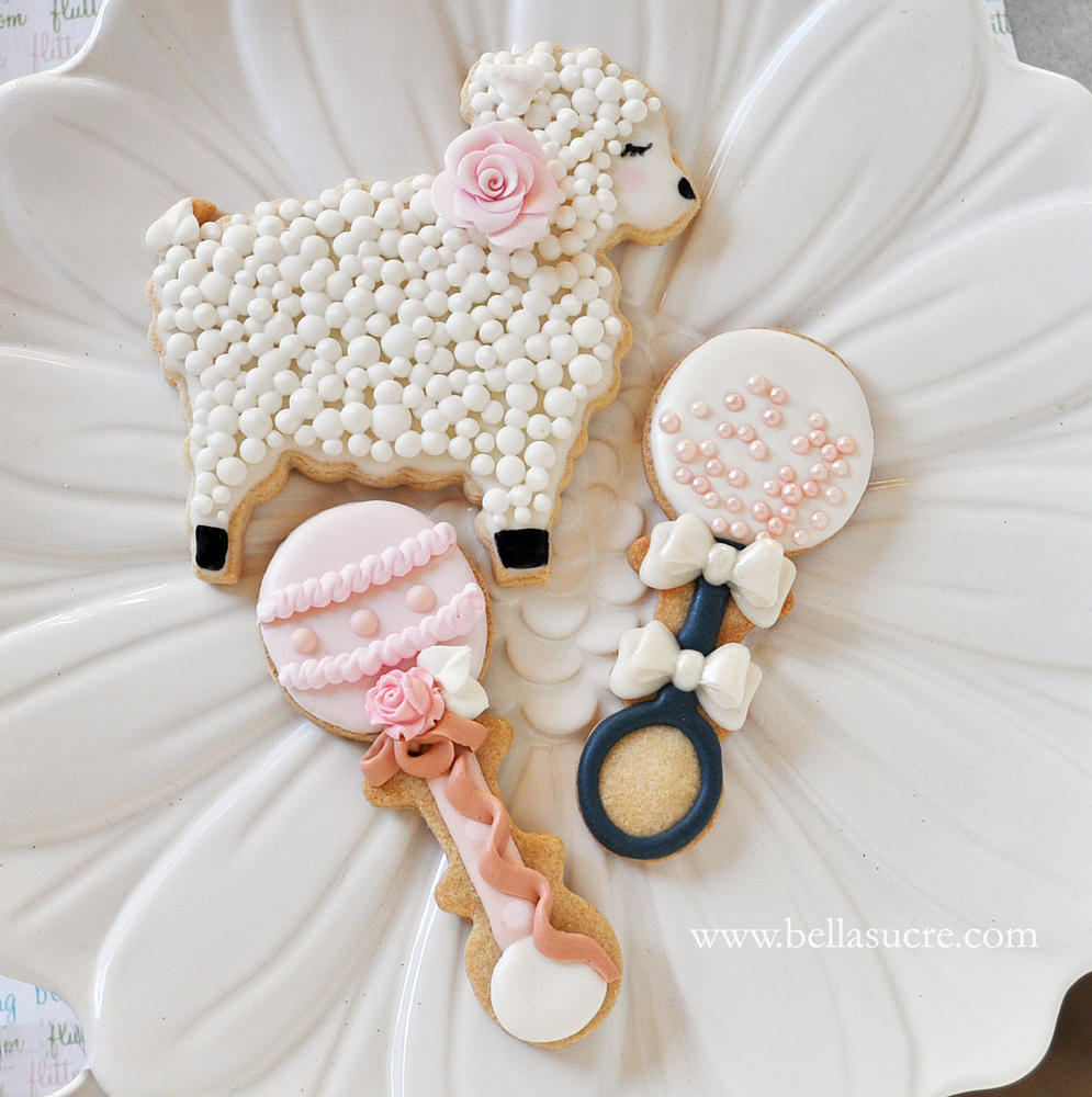 Spring Baby Shower Cookie Connection