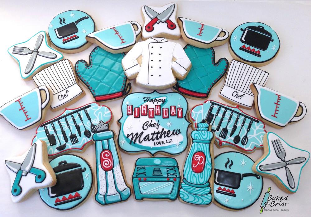 Retro Chef Cookies