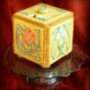 Art Nouveau Cookie Box