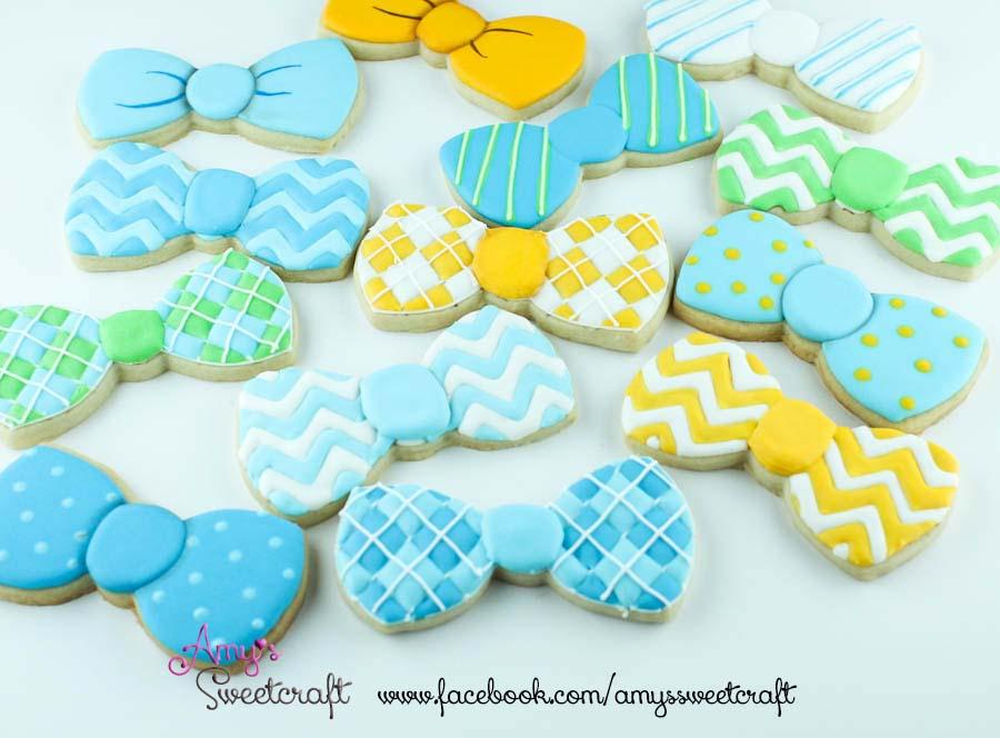 Bow Tie Cookies Cookie Connection
