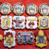 Knight and Dragon Birthday Cookies