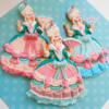 Marie Antoinette Royal Icing Dress Cookies