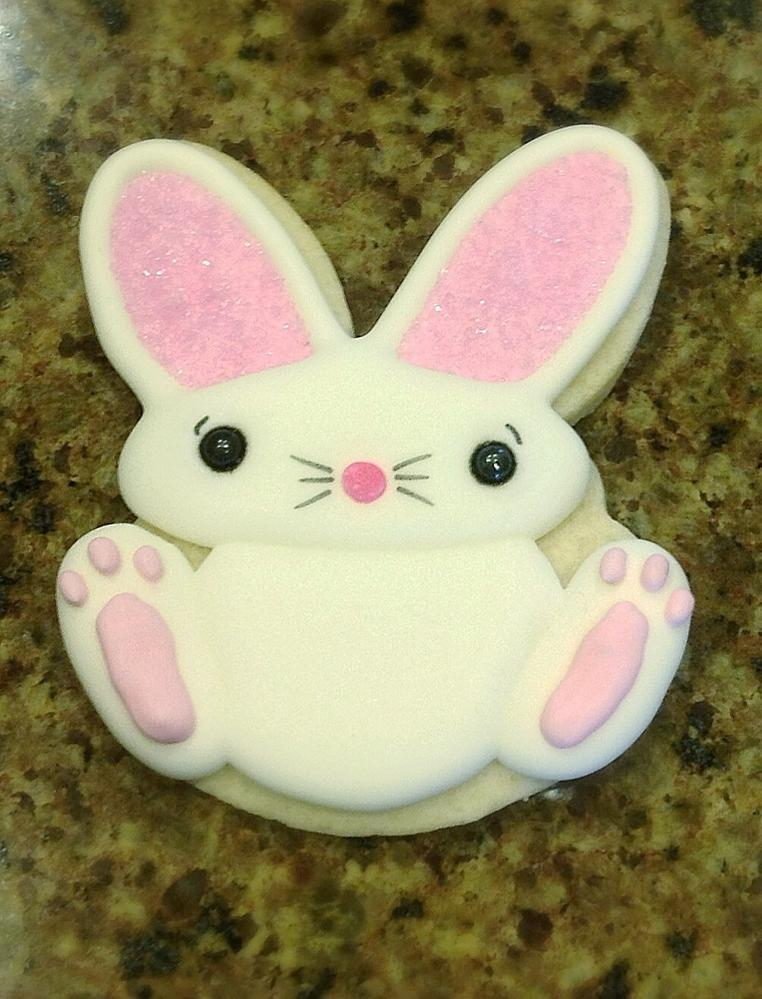 Bunny inspired by Michelle@MakeMeCake.me