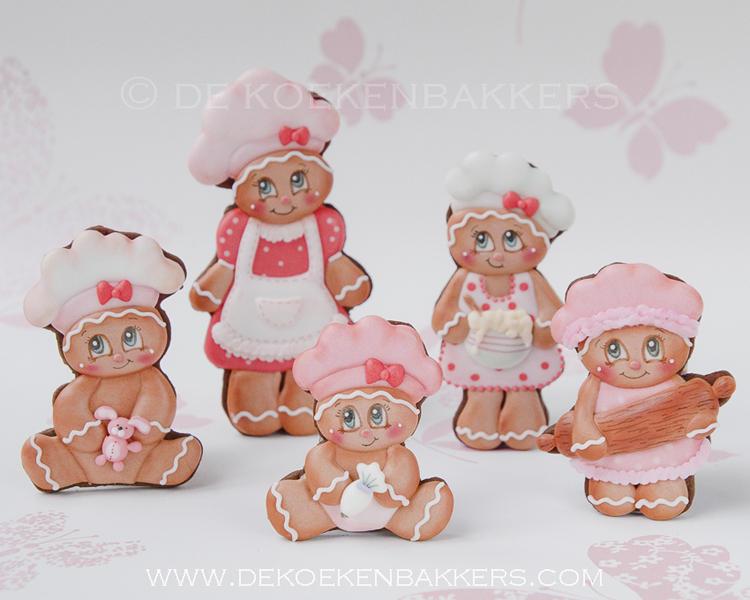 Gingerbread cookie bakers