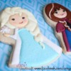 Frozen Princesses Elsa and Anna