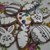 Easter Paintbrush cookies