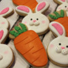 Easter bunnies and carrots 2014