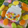 Jelly Bean Jar Cookie by Melissa Joy