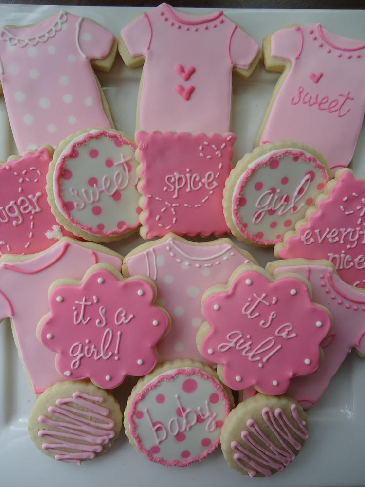 baby shower cookies  cookie connection, Baby shower invitation