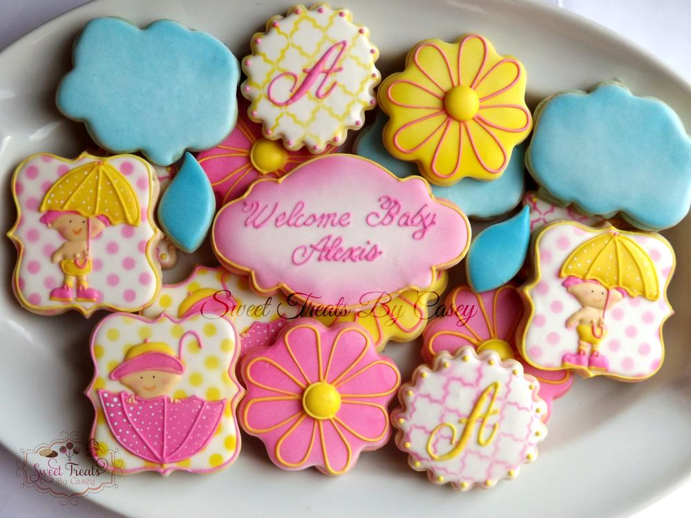 April Showers Bring May flowers   Cookie Connection