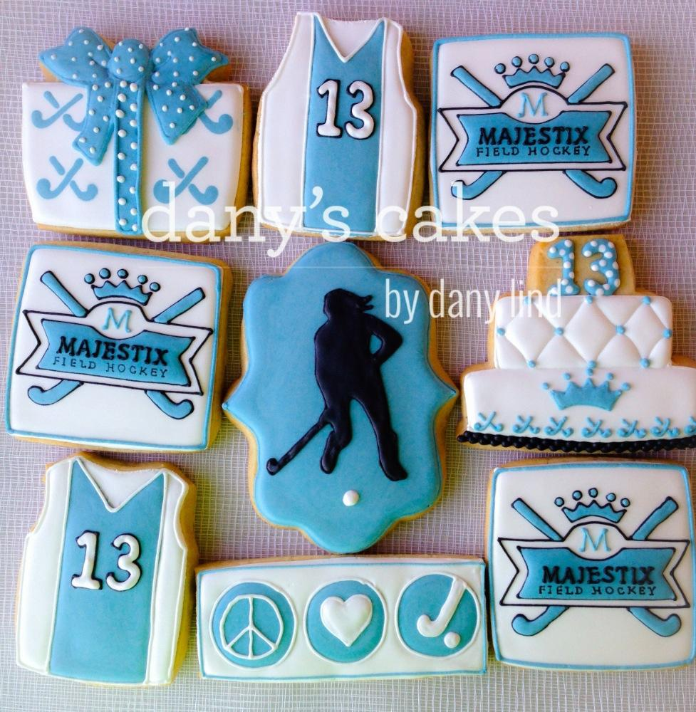 Field Hockey Birthday By Danys Cakes Cookie Connection