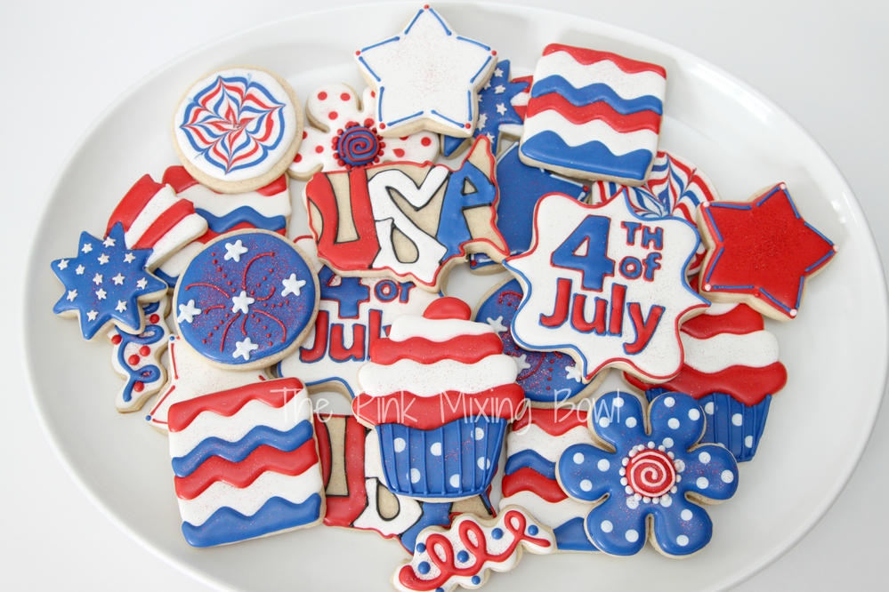 4th Of July Cookie Connection