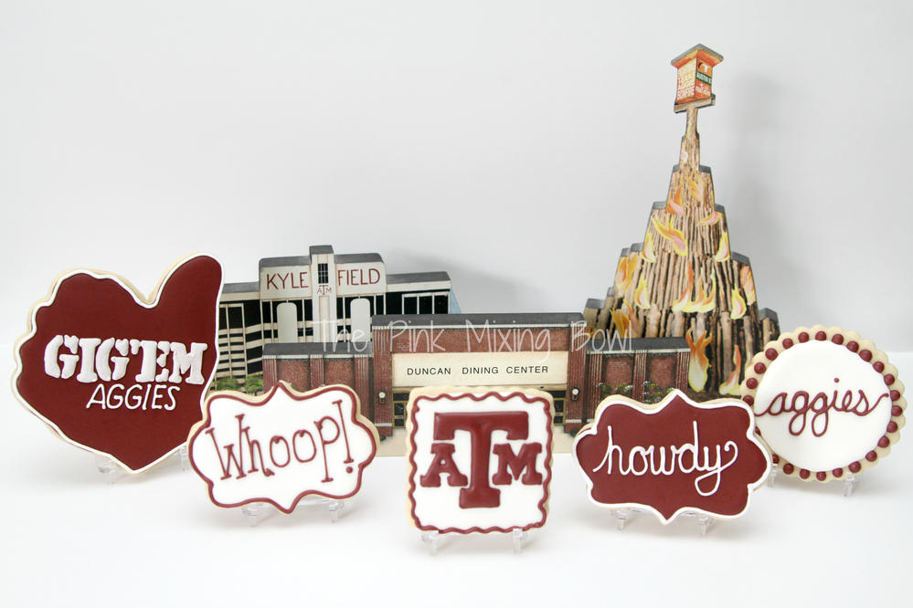 Texas A&M University cookies!