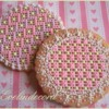 Needlepoint cookies