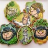 """""""Where The Wild Things Are"""" Themed Cookies"""