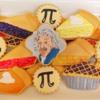 Pi Day/Albert Einstein Birthday Cookies