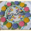 Mother's Day Cookie Wreath