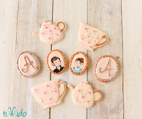 Jane Austen Tea Party Cookies