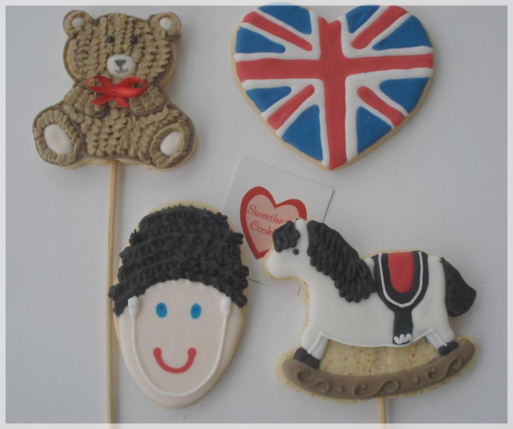British Themed Boy S Bedroom: British Soldier Themed Cookies