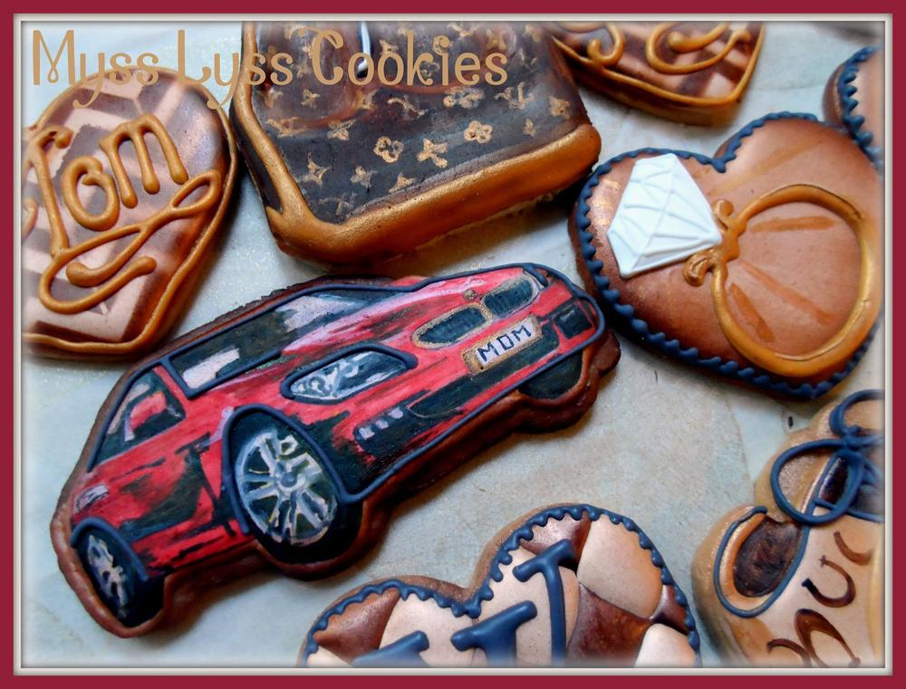 Louis Vuitton, Coach, BMW, and Bling - Myss Lyss Cookies