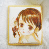 Handpainted Girl Cookie