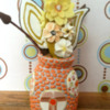 cookie vase back view