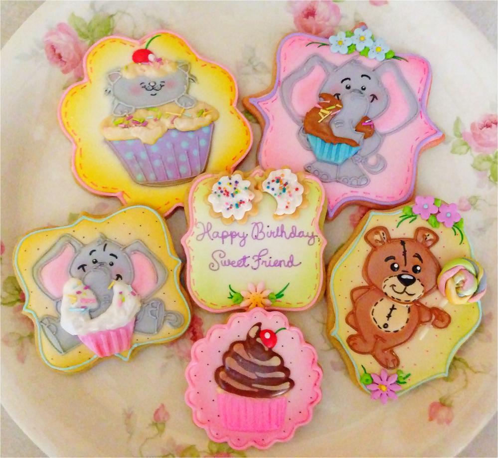 Sweet Birthday Cookies
