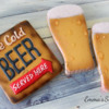 Beer Themed Cookies by Emma's Sweets