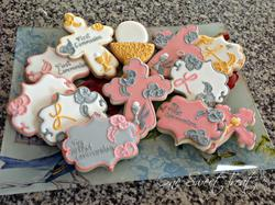 First Communion Sugar Cookies