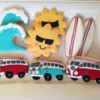 Summer Surfing Cookies