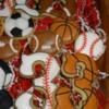 Baseball and Basketball Cookies