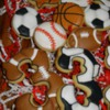 Football and Soccer Cookies