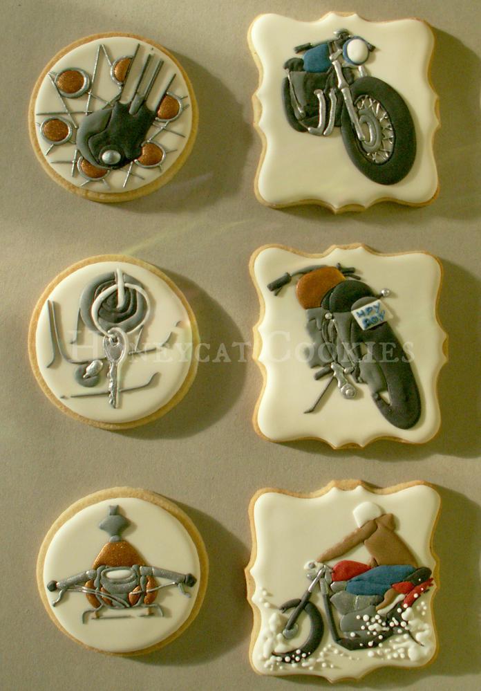 Motorbike Cookies - Full Set