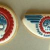 Motorbike logo cookies