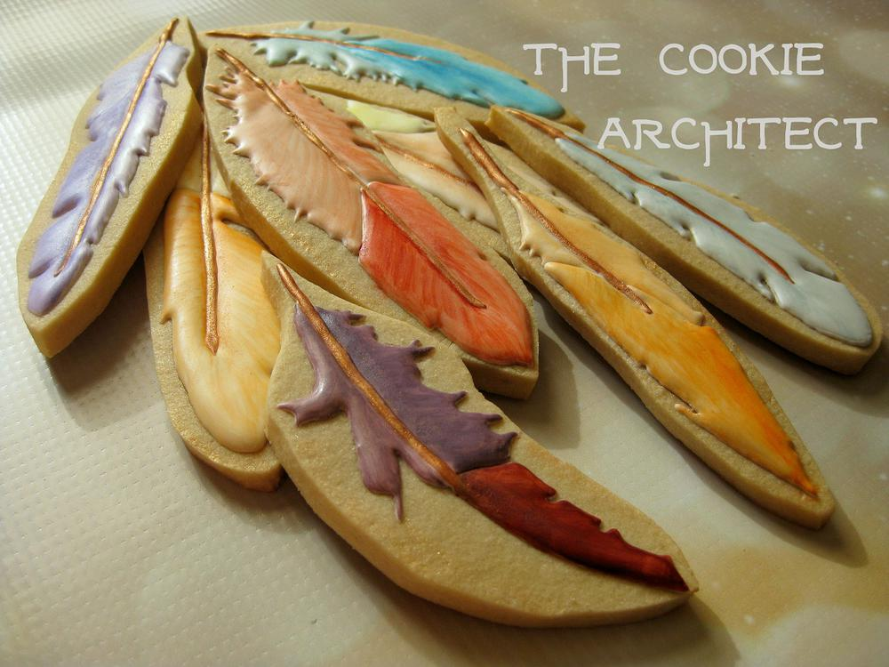 Feathers in a Pile | The Cookie Architect