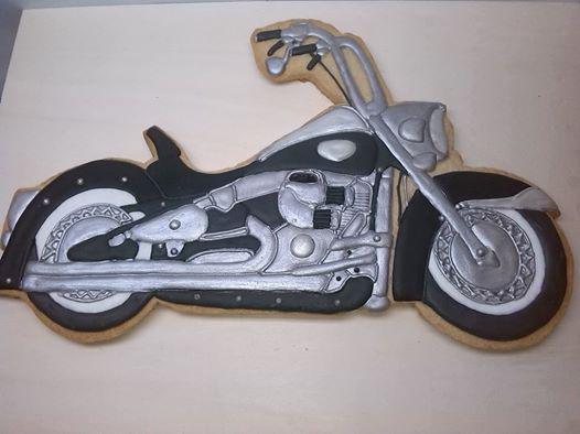 Chopper moto
