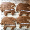 grand piano cookies for a piano recital