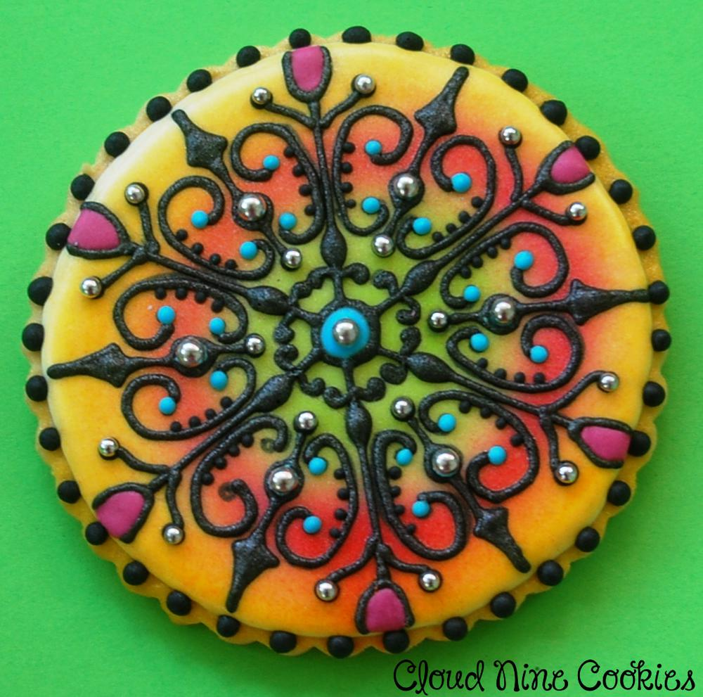 Mandala Cookie (the female of the pair)