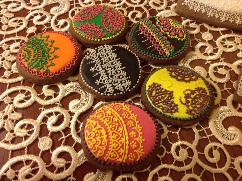 Henna cookie set