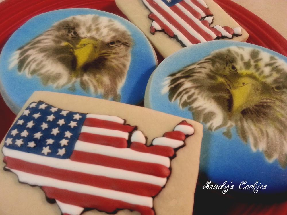f15d0d29a4bd Flag Day cookies