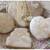 Stenciled Royal Icing Sugar Cookies