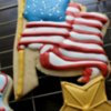 Flag & Star Cookies