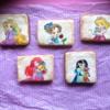 Disney princess hand painted cookie