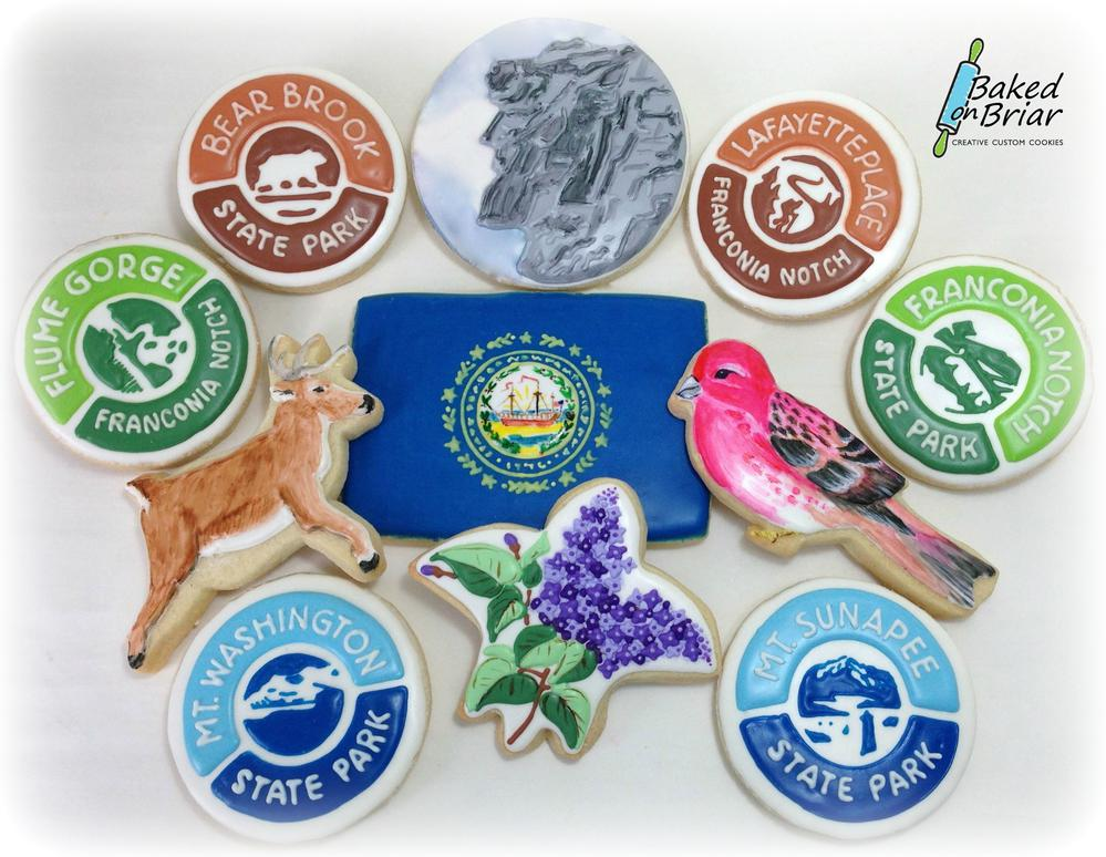 New Hampshire State cookies