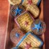 Vintage 4th of July cookies