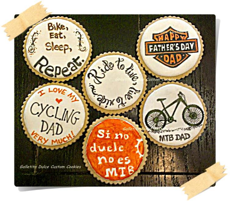 Biker-Cyclist Dad