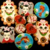 Fortune Cat, Geisha, Koi Pond, and Chinese Lantern Cookies